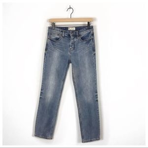Free People Mid-Rise Skinny Jeans Size 26